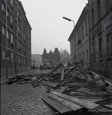 Wojsko na ulicach Szczecina, grudzień 1070 r.
