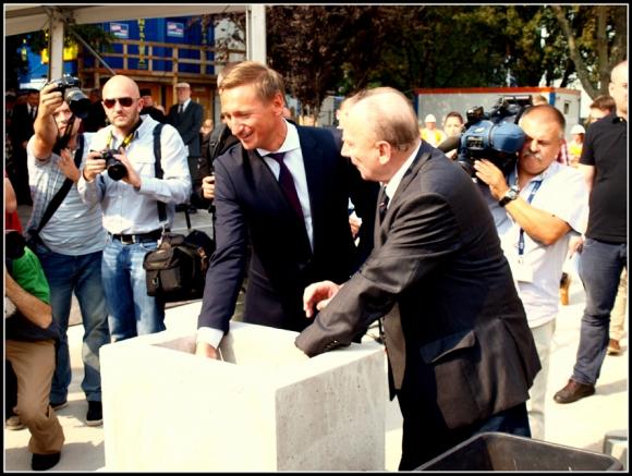 Wmurowanie Aktu Erekcyjnego pod Centrum Dialogu Przełomy