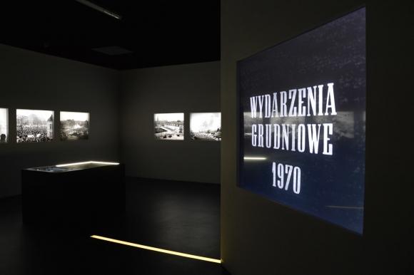 Wystawa stała Centrum Dialogu Przełomy – oddziału Muzeum Narodowego w Szczecinie (fot. Aneta Popławska-Suś)