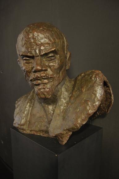Xawery Dunikowski, Lenin, 1949, brąz