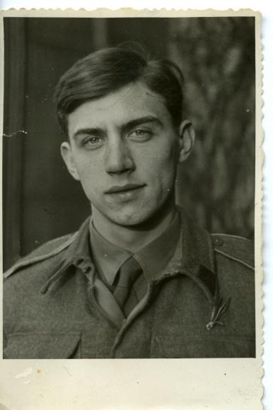 """Edwin Mikołaj Scheller (1919-1999), ps. """"Czarny"""